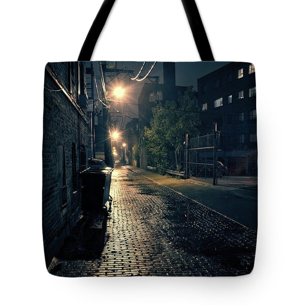 Vintage Chicago Alley Tote Bag