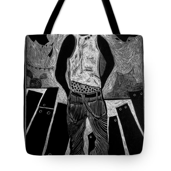 Walking While Black. Tote Bag