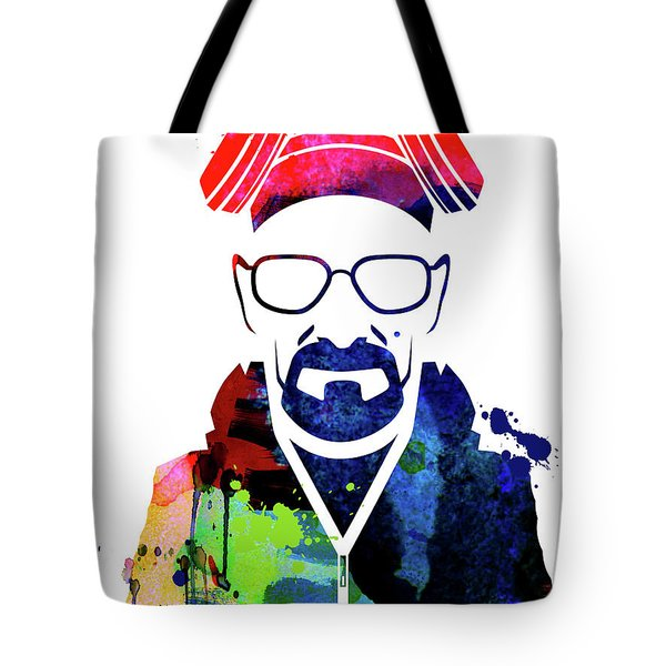 Walter Watercolor Tote Bag
