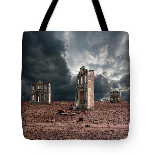 Wasteland Of Facades Tote Bag