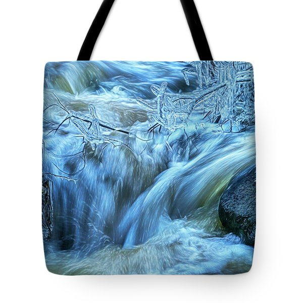 Water And Ice 2 Tote Bag