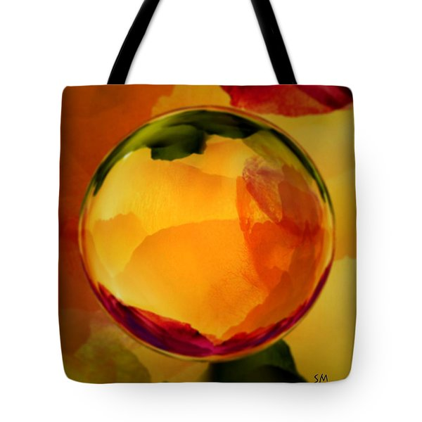 Watercolor Glass Marble  Tote Bag