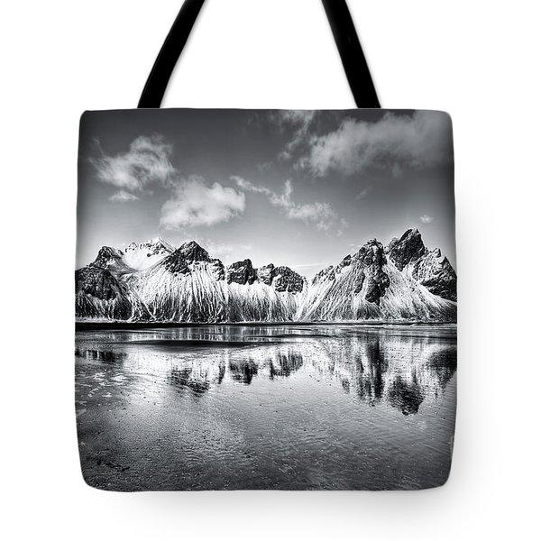 Where The Mountains Meet The Sky Tote Bag