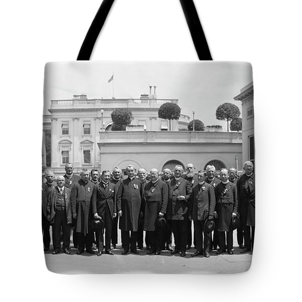 White House Reception By President Tote Bag