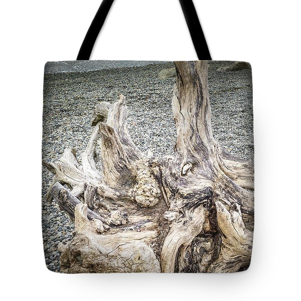 Tote Bag featuring the photograph Wood Log In Nature No.35 by Juan Contreras