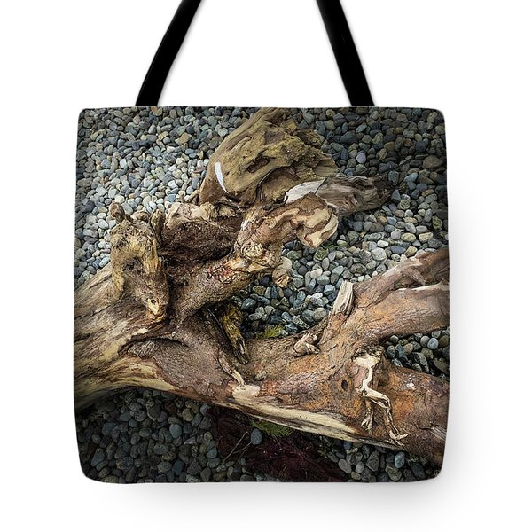 Tote Bag featuring the photograph Wood Log In Nature No.39 by Juan Contreras