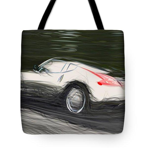 Nissan 370z Draw Tote Bag