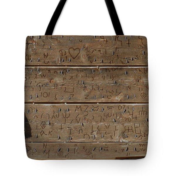 100 Years Of Brands - Meeteetse, Wyoming Tote Bag