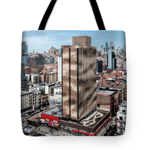 Tote Bag featuring the photograph 101 Ludlow Feb2017b by Steve Sahm
