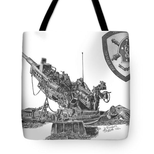 10th Marines 777 Tote Bag