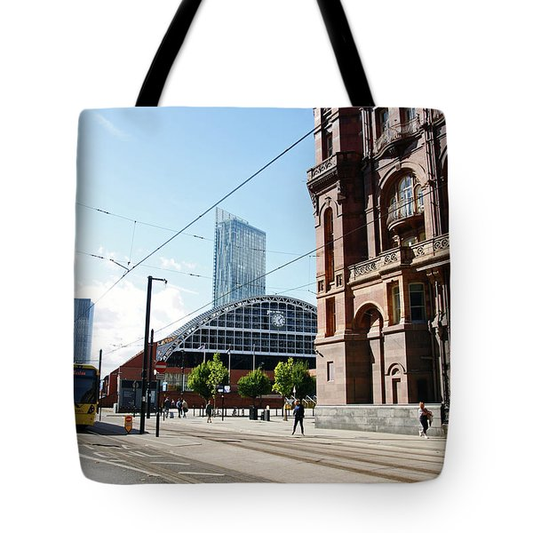 13/09/18  Manchester.  Lower Mosley Street. Tote Bag