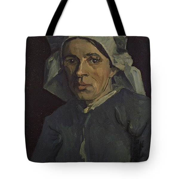 Head Of A Woman Tote Bag
