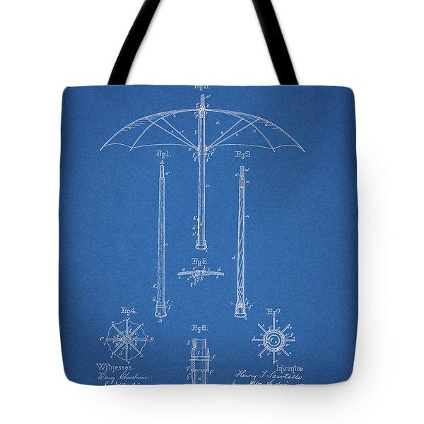 1885 Umbrella Patent Tote Bag