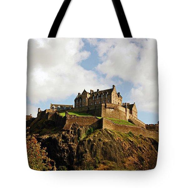 19/08/13 Edinburgh, The Castle. Tote Bag