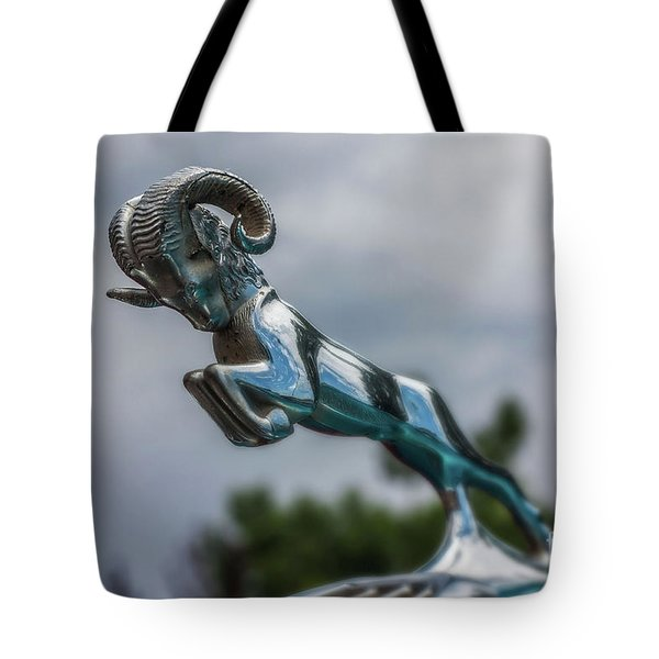 1936 Dodge Hood Ornament Tote Bag