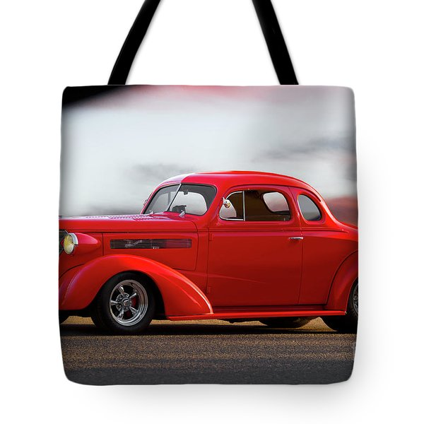 1937 Chevrolet Master Deluxe Coupe Tote Bag