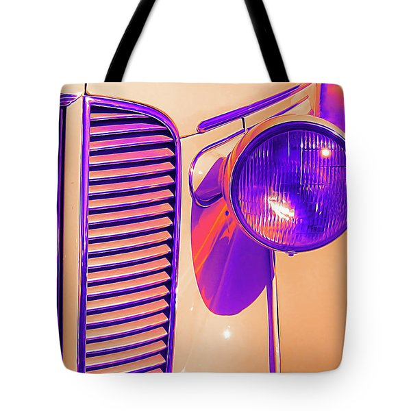 1937 Dodge Glowing Tote Bag