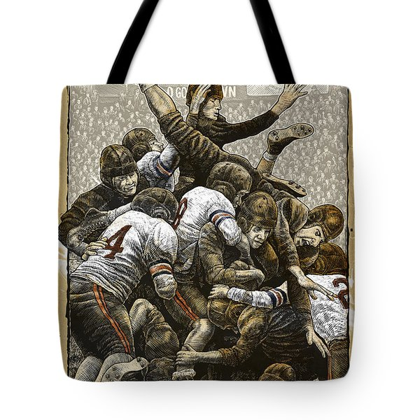 1940 Chicago Bears Tote Bag