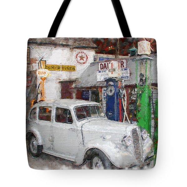1950s Garage Tote Bag
