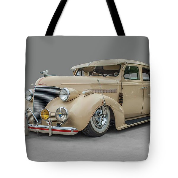 Tote Bag featuring the photograph 1939 Chevrolet Master Deluxe by Tony Baca