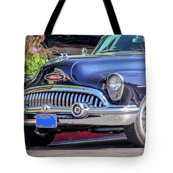 1953 Buick Skylark - Chrome And Grill Tote Bag
