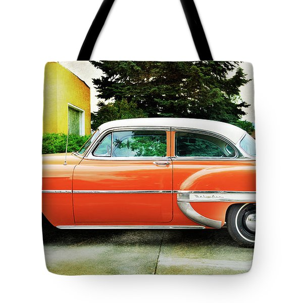1954 Belair Chevrolet 2 Tote Bag