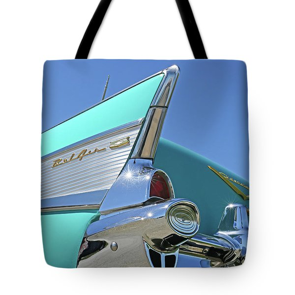 1957 Chevy Tote Bag
