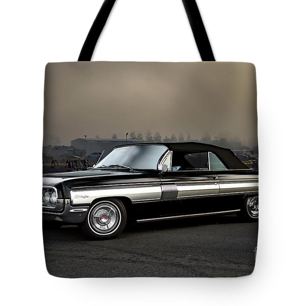 1962 Oldsmobile Starfire Convertible Tote Bag