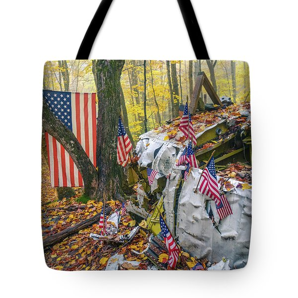 1963 Elephant Mountain B-52 Crash Tote Bag