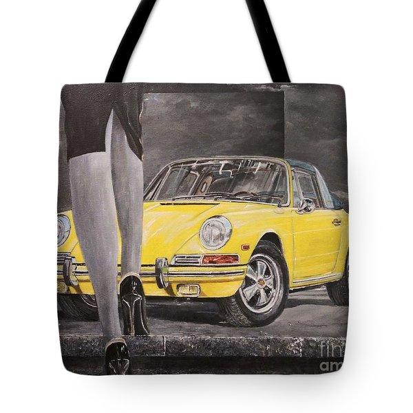 1968 Porsche 911 Targa Tote Bag