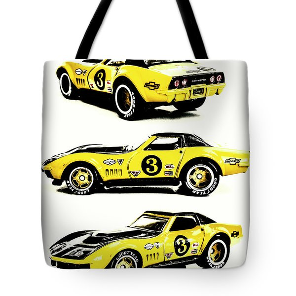 1969 Chevrolet Copo Corvette Tote Bag