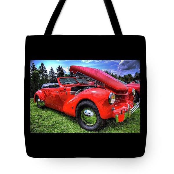 1969 Cord Automobile Tote Bag