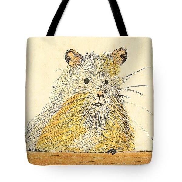 1979 Hamster Sketch Tote Bag