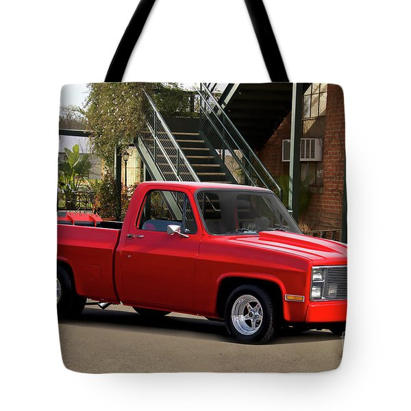 1983 Chevrolet C10 Lrhh Pickup I Tote Bag