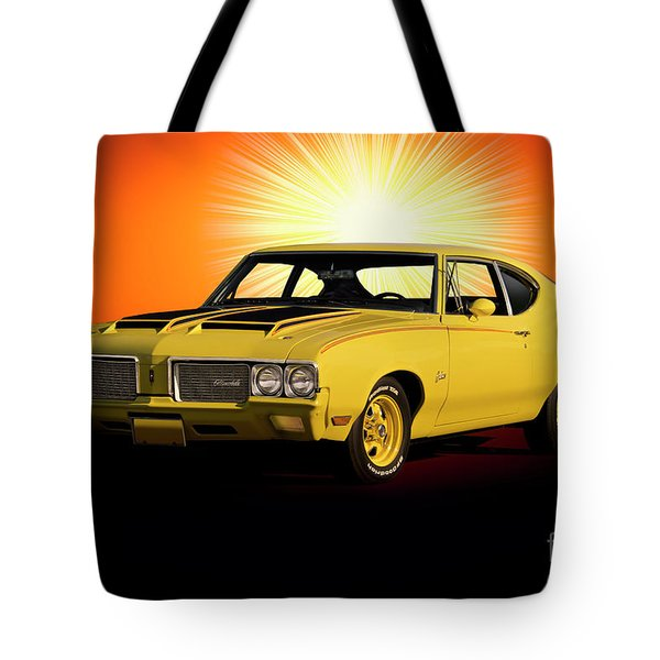 1970 Oldsmobile Cutlass Rally 350 Tote Bag