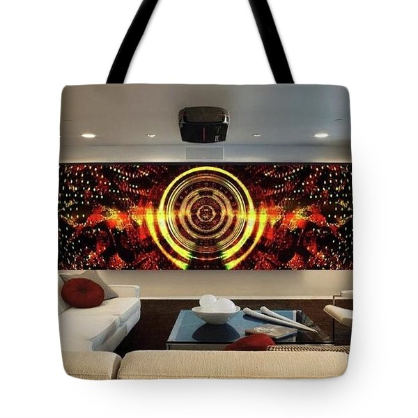 Abstract Power Change Tote Bag