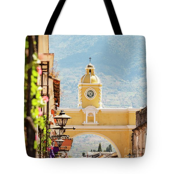 Tote Bag featuring the photograph Antigua Guatemala by Tim Hester