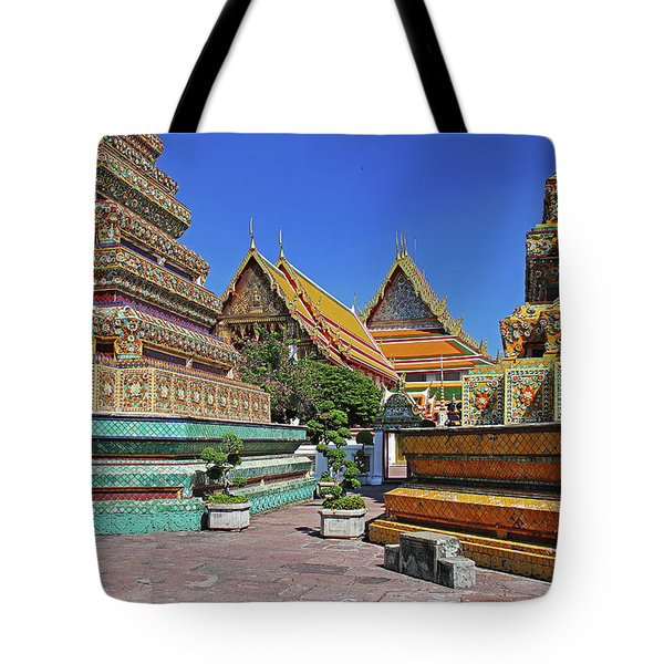 Bangkok, Thailand - Wat Phra Kaew - Temple Of The Emerald Buddha Tote Bag