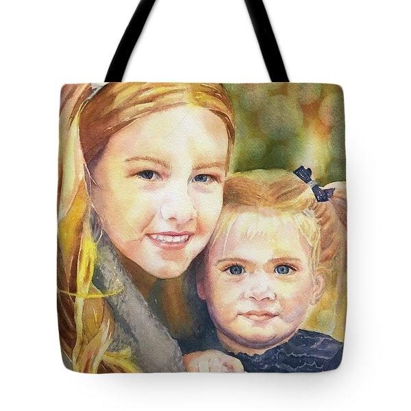 Belle And Maddie Tote Bag