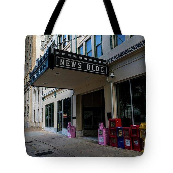 Broad Street Downtown Augusta Ga Tote Bag