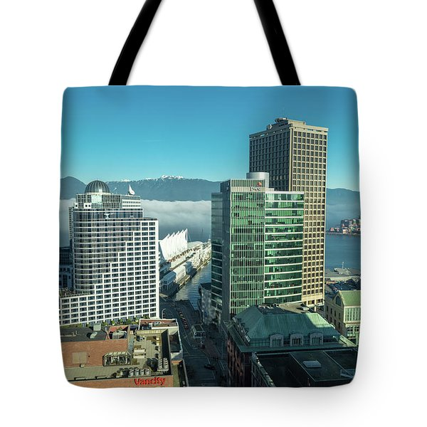 Tote Bag featuring the photograph Canada Place by Ross G Strachan