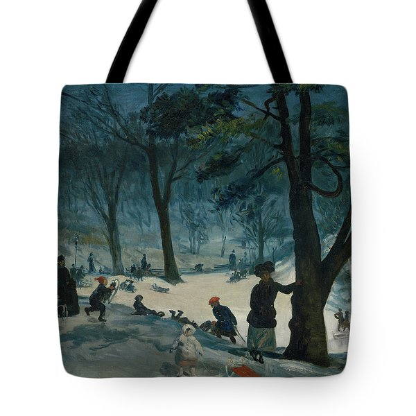 Central Park, Winter Tote Bag
