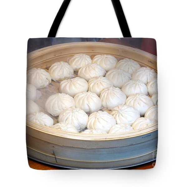 Chinese Steamed Buns Tote Bag