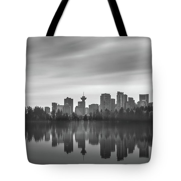 Downtown Vancouver Tote Bag