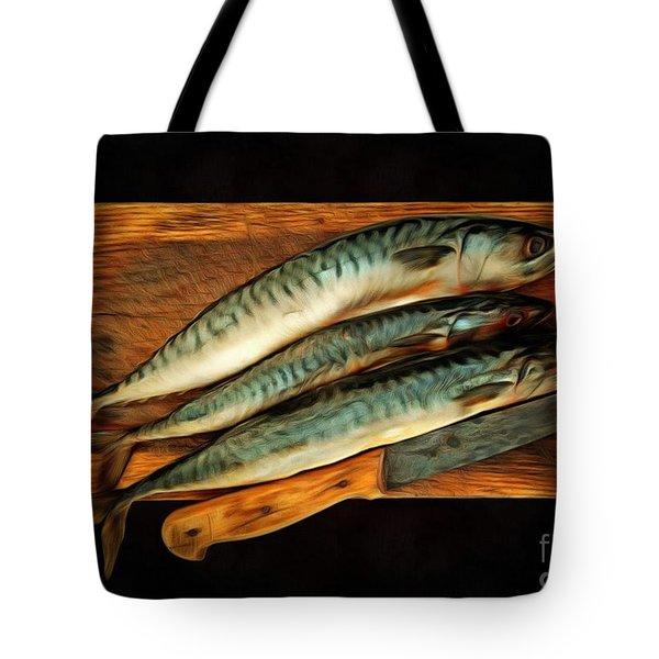 Fresh Mackerels Tote Bag