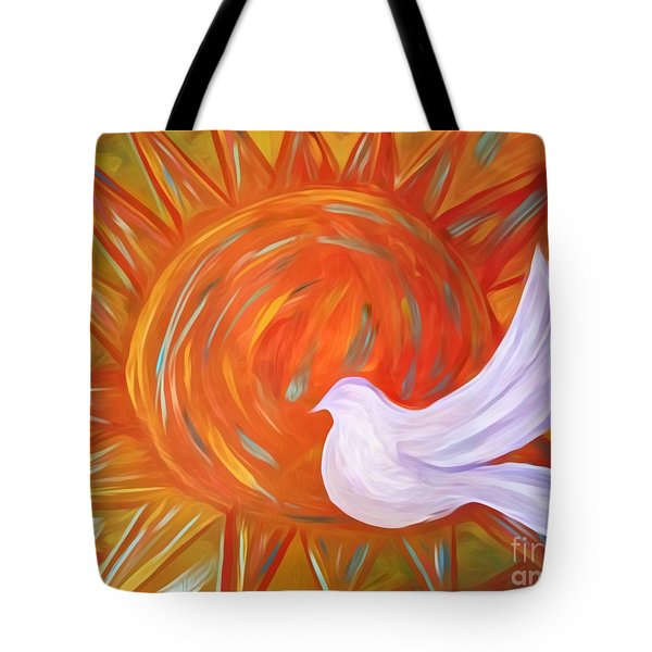Healing Wings Tote Bag