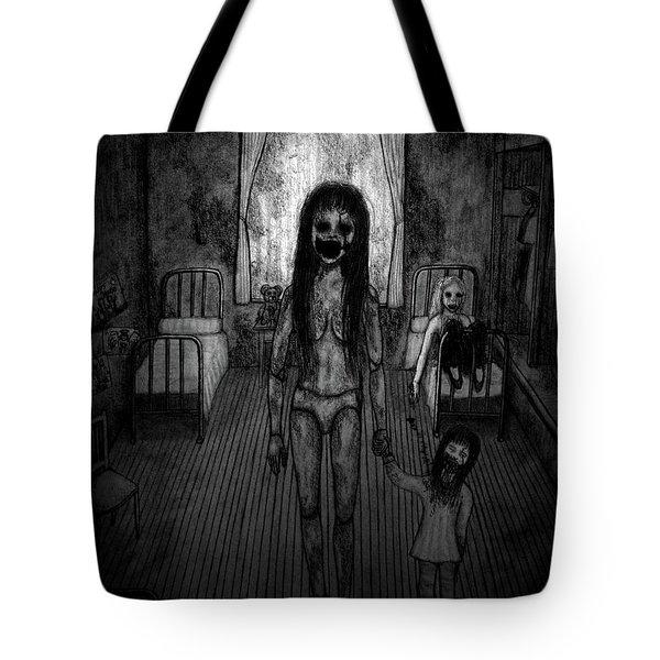 Jessica And Her Broken Doll - Artwork Tote Bag