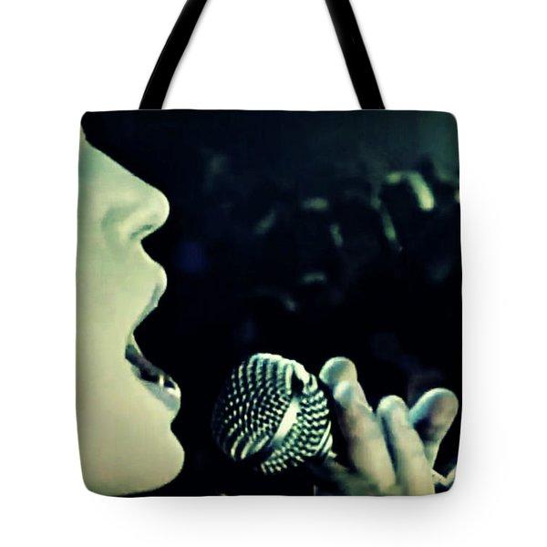 Joan Jett Tote Bag