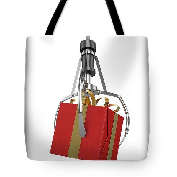 Machine Claw Grabbing Gift Tote Bag