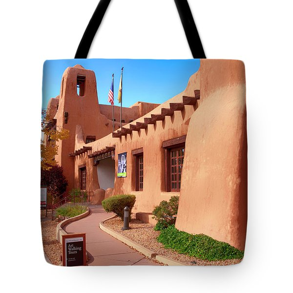 New Mexico Museum Of Art Tote Bag